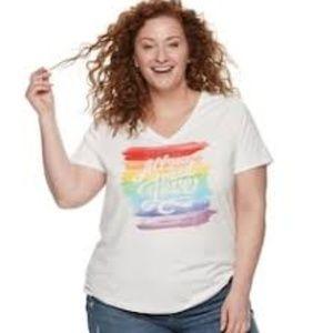 EVRI Essential Rainbow Graphic Casual Tee
